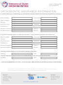 Orthodontic Insurance Information Form