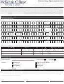 Program Application Form