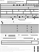 Form Dtf-17 - Application For Registration As A Sales Tax Vendor - New York