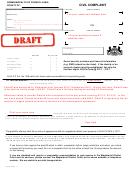 Sample Civil Complaint Form