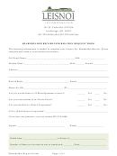 Shareholder Request Form