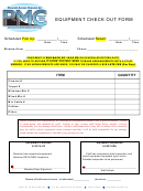 Equipment Check Out Form - Prescott Media Center