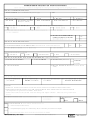 Dd Form 2675, Reimbursement Request For Adoption