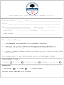 Application For Aarp Connectcut State President