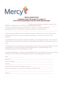 Media-marketing Consent And Release Of Liability For Photographing And/or Videorecording