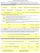 Utah Department Of Health, Child Care Licensing Initial Cbs / Lis Consent And Release Of Liability For Child Care