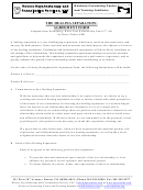 The Healing Separation: Agreement Form