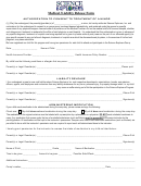 Authorization To Consent To Treatment Of A Minor