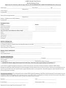 Lamb's Basket Food Pantry Medical Release Form