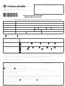 Patient Request To Access Medical Records Form
