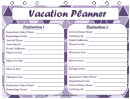 Vacation Planner Multiple Destinations