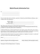 Medical Records Authorization Form