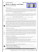 Silver To Black - And Back Chemistry Worksheets