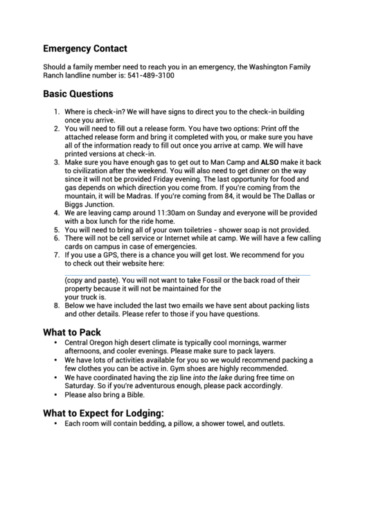 Top 6 Young Life Health Form Templates free to download in PDF ...