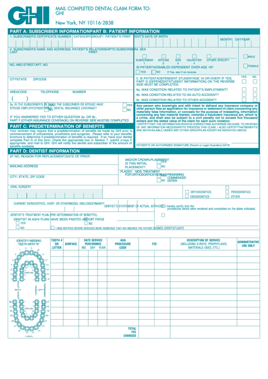 Top Ghi Claim Form Templates free to download in PDF, Word and ...