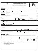 Fincen Form 110 (8-2005) - Designation Of Exempt Person