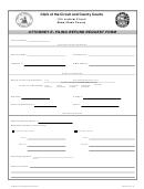 Attorney Refund Request