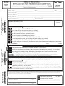 Application For Homestead Exemption (form Otc 921)
