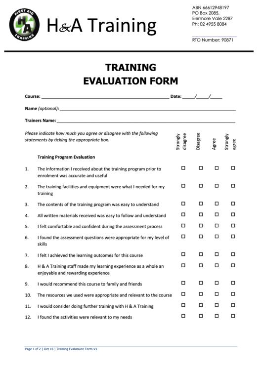 Stunning Trainer Evaluation Form Images - Resume Ideas - bayaar.info