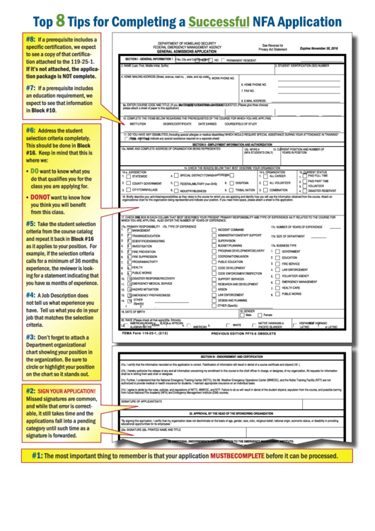 Top Fema Form 119-25-1 Templates free to download in PDF, Word and ...