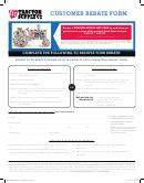 Customer Rebate Form