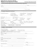Application For A Permit To Operate Allegany County Department Of Health