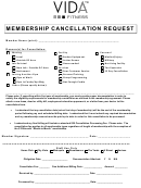 Membership Cancellation Request