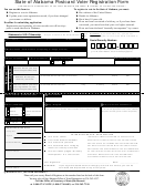 Top Alabama Voter Registration Form Templates free to download in ...