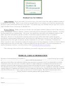 Medical Care Authorization