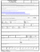 Dd Form 137-6, Dependency Statement - Full Time Student 21 - 22 Years Of Age