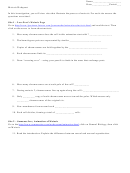 Meiosis Webquest - Biology Worksheets