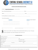 Student Records Request Form