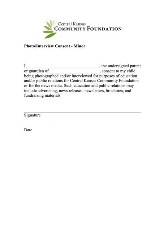Top 8 Interview Consent Form Templates free to download in PDF format