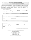 Supervisory Physician Form