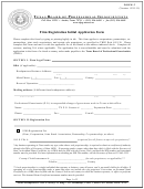 Firm Registration Initial Application Form