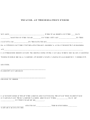 Travel Authorization Form