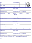 Statement Of Employer Payments Form