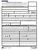 Form Pptc 156 - Child General Passport Application For Canadians Under 16 Years Of Age Applying In Canada Or From The Usa