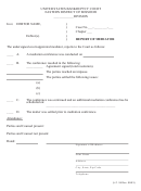 Report Of Mediator - United States Bankruptcy Court Eastern District Of Missouri