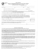 Form Wh-4 - Employee's Withholding Exemption And County Status Certificate - Indiana