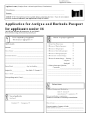 Passport Application Form M
