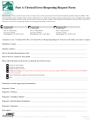 Part A Clerical Error Reopening Request Form
