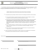 Sba Form 1623 - Certification Regarding Debarment, Suspension, And Other Responsibility Matters