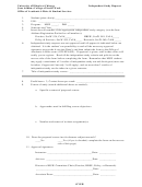Independent Study Request Form
