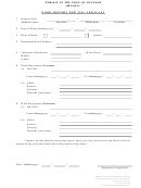Work History For Visa Applicant - Embassy Of Myanmar In Brussels