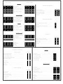 Fillable Road Test Score Sheet - Da Form 6125 (Aug 2011) printable