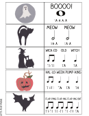 Let's Play Music - Music Worksheet