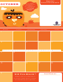 October Eating Calendar - Pumpkins