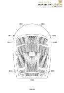 Seating Plan - Marina Bay Sands