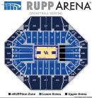 Rupp Arena Basketball Seating Chart